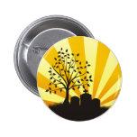 Cemetery Sunburst Pins