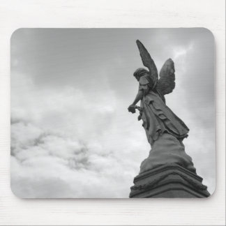 cemetery watcher mouse pad