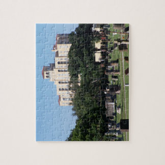 Cemetery west palm beach florida trees n buildings jigsaw puzzle