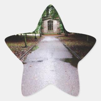 Cemetry Star Sticker