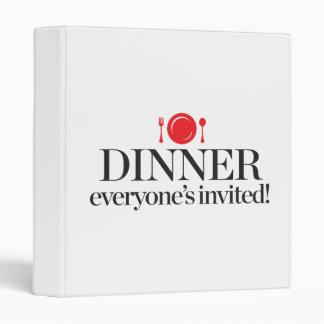 "Cena cada uno invitado carpeta 1"""