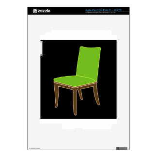 cena de la silla pegatinas skins para iPad 3