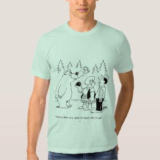 Cena de los osos camisas
