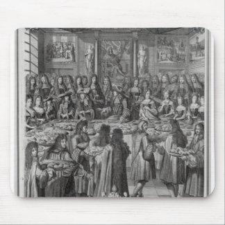 Cena de Louis XIV en el hotel de ville Alfombrillas De Raton