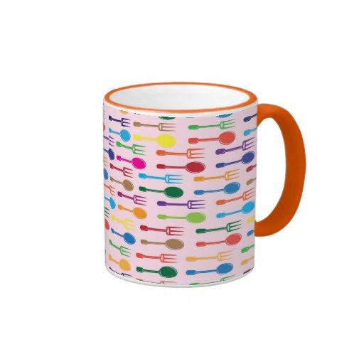 Cena de textura taza