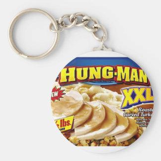 Cena del Colgar-Man Llavero Redondo Tipo Pin