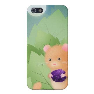 Cena del Dormouse - caso del iphone iPhone 5 Carcasas