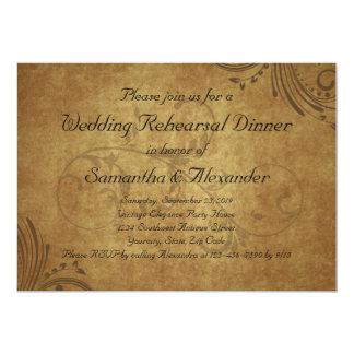Cena del ensayo del boda del remolino de Teastain Anuncio