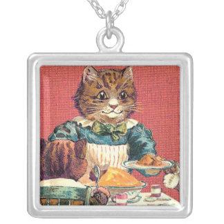 Cena del gatito collar
