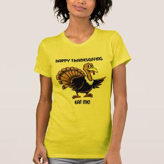 Cena del pavo de la acción de gracias camisetas