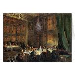 Cena del príncipe de Conti en el templo Felicitacion