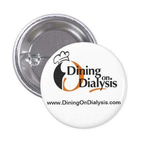 ¡Cena en el botón de la diálisis! Pins