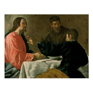 Cena en Emmaus, 1620 Postales
