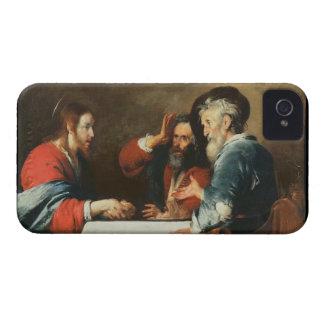 Cena en Emmaus (aceite en lona) 2 Funda Para iPhone 4 De Case-Mate