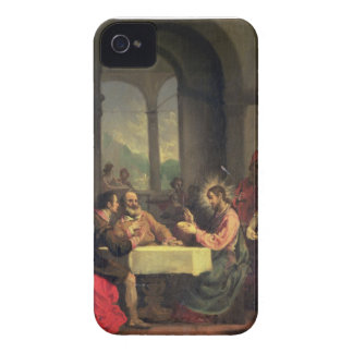 Cena en Emmaus, c.1600-05 (aceite en el panel) Carcasa Para iPhone 4 De Case-Mate