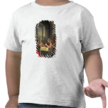 Cena en Emmaus, c.1600-05 (aceite en el panel) Camiseta