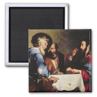Cena en Emmaus Imán