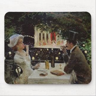 Cena en Les Ambassadeurs, c.1882 Mousepads