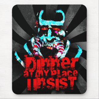 Cena en mi lugar, insisto mouse pads