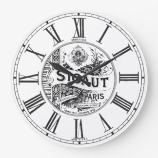 Cena en París Relojes De Pared