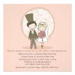 Cena linda Invi del ensayo del boda de novia y del Comunicado