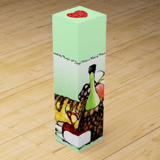Cena para dos cajas para botellas de vino