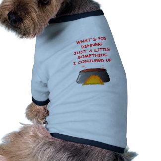 cena camiseta de mascota