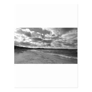 Cenador de la cañada, playa de Michigan Tarjetas Postales