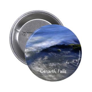 Cenarth Falls 2 Inch Round Button
