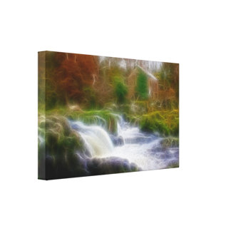 Cenarth Falls Canvas Print