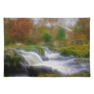 Cenarth Falls Cloth Placemat