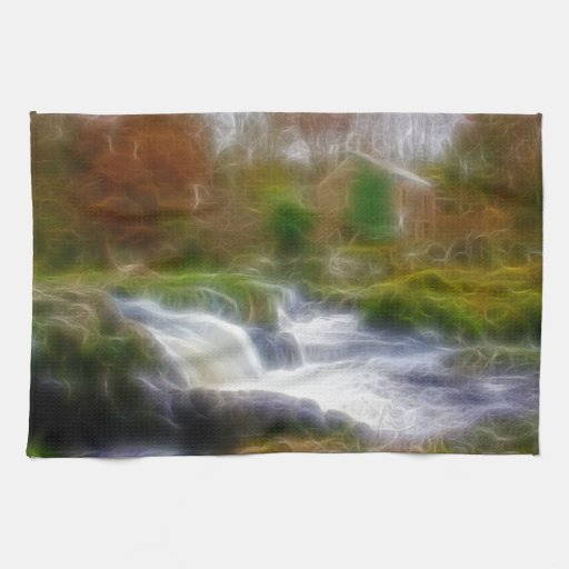 Cenarth Falls Kitchen Towels