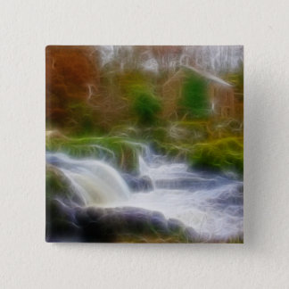 Cenarth Falls Pinback Button