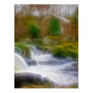 Cenarth Falls Postcard
