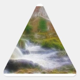 Cenarth Falls Triangle Sticker