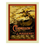 Cendrillon ~ Vintage French Theatre Advertising Posters