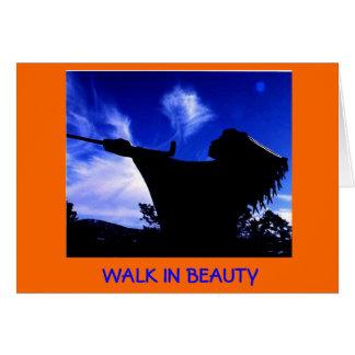 Cene el paseo (de Navajo   ) en tarjeta de la bell