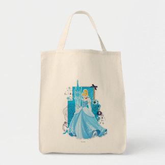 Cenicienta - agraciada bolsa tela para la compra