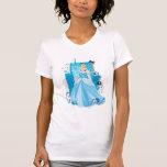 Cenicienta - agraciada camisetas