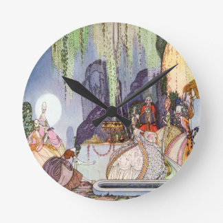 Cenicienta de Kay Nielsen en la bola Reloj