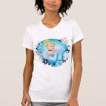 Cenicienta - graciosa como princesa verdadera camisetas
