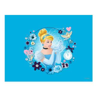 Cenicienta - graciosa como princesa verdadera postal
