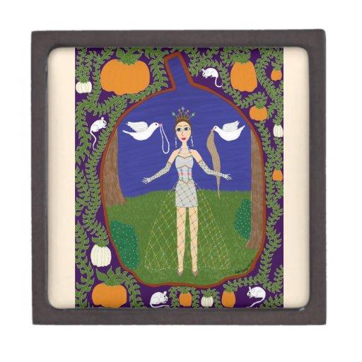 Cenicienta (moda del cuento de hadas #2) caja de regalo de calidad