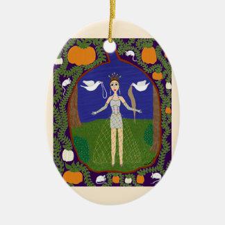Cenicienta (moda del cuento de hadas #2) ornaments para arbol de navidad
