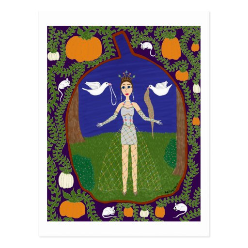 Cenicienta (moda del cuento de hadas #2) tarjetas postales