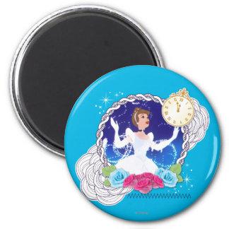 Cenicienta - princesa Cenicienta Imán Redondo 5 Cm