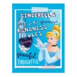 Cenicienta - reglas de la amabilidad tarjetas postales