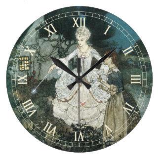 Cenicienta y hada madrina de Edmund Dulac Relojes