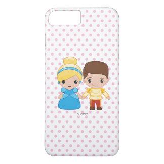 Cenicienta y príncipe el encantar Emoji Funda iPhone 7 Plus