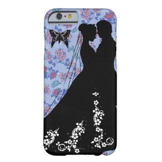 Cenicienta y príncipe el encantar funda de iPhone 6 barely there